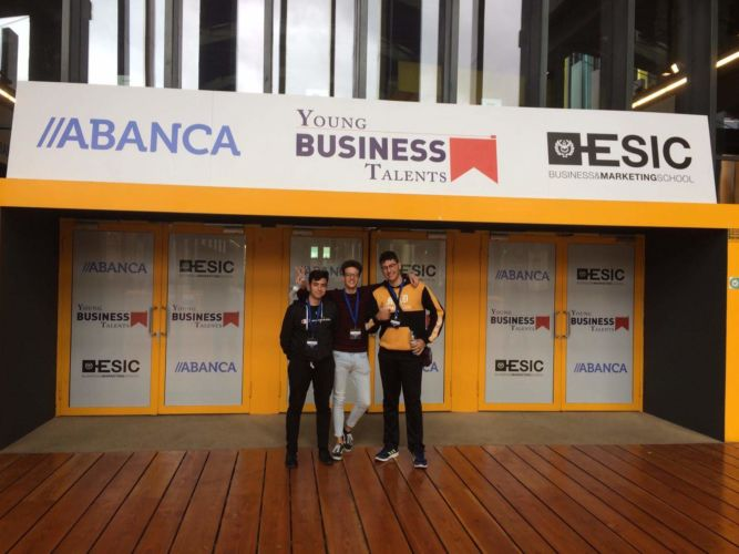Premiados Young Business Talent El Campico