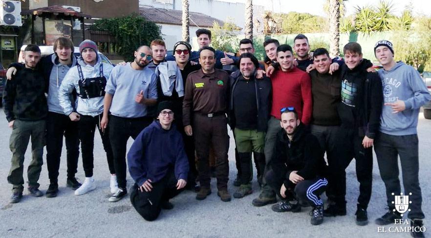 Curso Agente Forestal El Campico