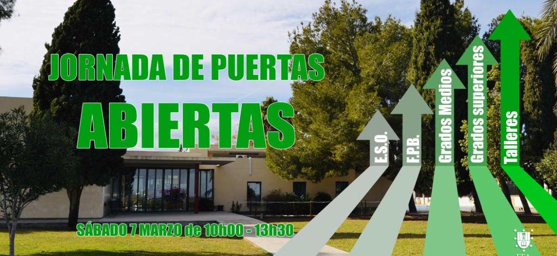 Jornada de Puertas Abiertas en Centro de Formación El Campico (Alicante)