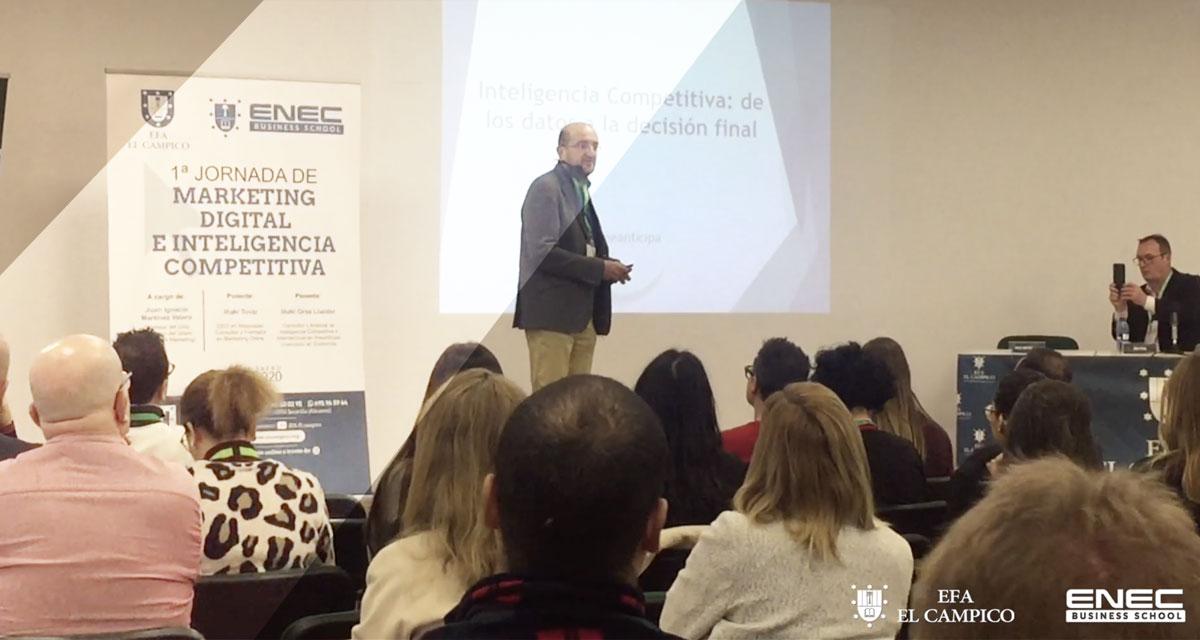 Exitosa Jornada de Marketing Digital en El Campico - Alicante