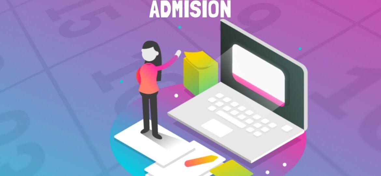 Portada para calendario de admisión