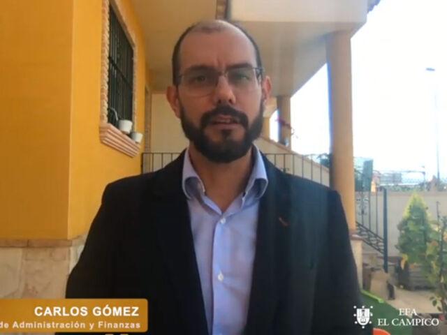 Carlos Gómez - Administración y Finanzas