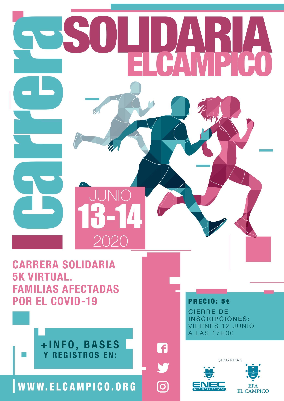Carrera Solidaria Virtual 5K El Campico