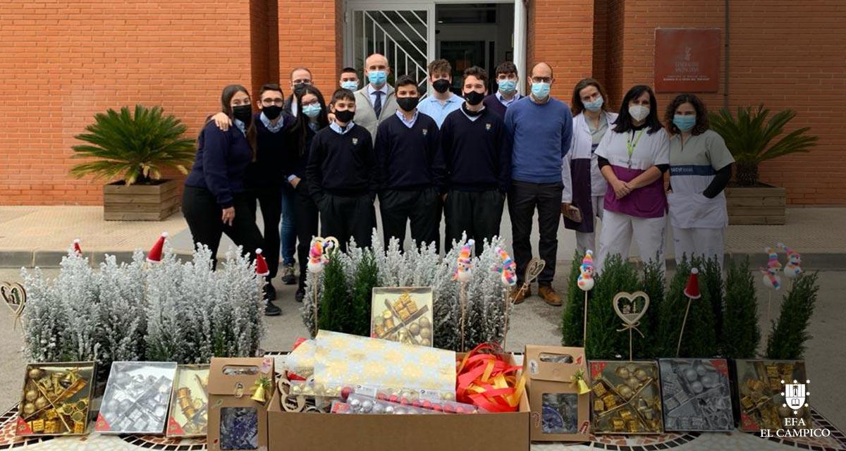 Entrega de donativos por la I Carrera Virtual Solidaria