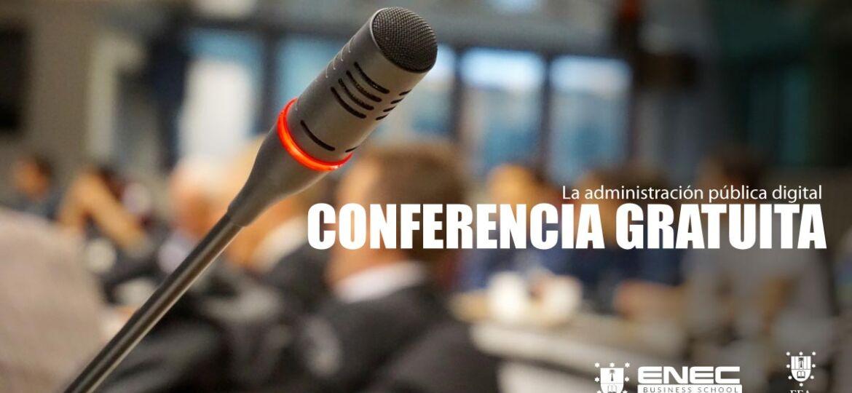 Conferencia sobre La administración pública digital