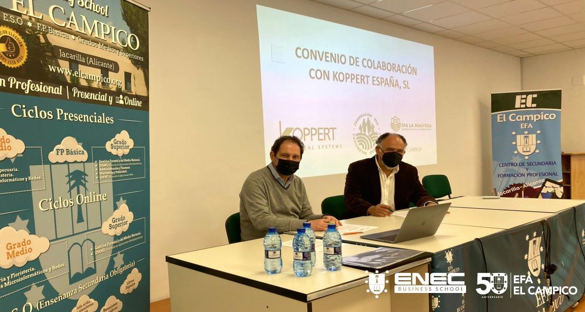 Convenio de colaboración con Koppert España