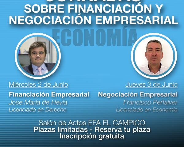 Jornada sobre financiación y negociación empresarial