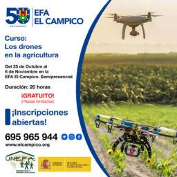 Curso Gratuito - Drones en la Agricultura